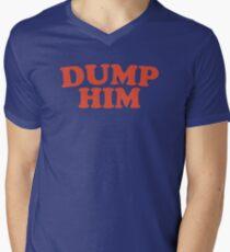 Dump Him Men's V-Neck T-Shirt
