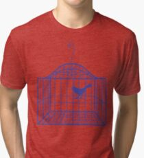 Birdcage... Tri-blend T-Shirt