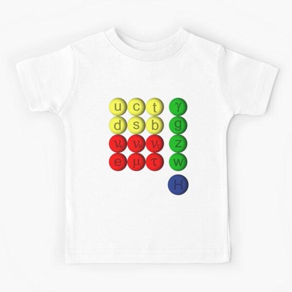 Elementary Particles Standard Model Kids T-Shirt
