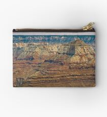 The Grand Canyon Series  - 9 Canyon Walls Studio Pouch