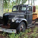 Old truck in Alaska by zumi