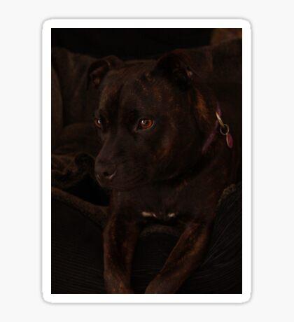 Millys Porträt Sticker