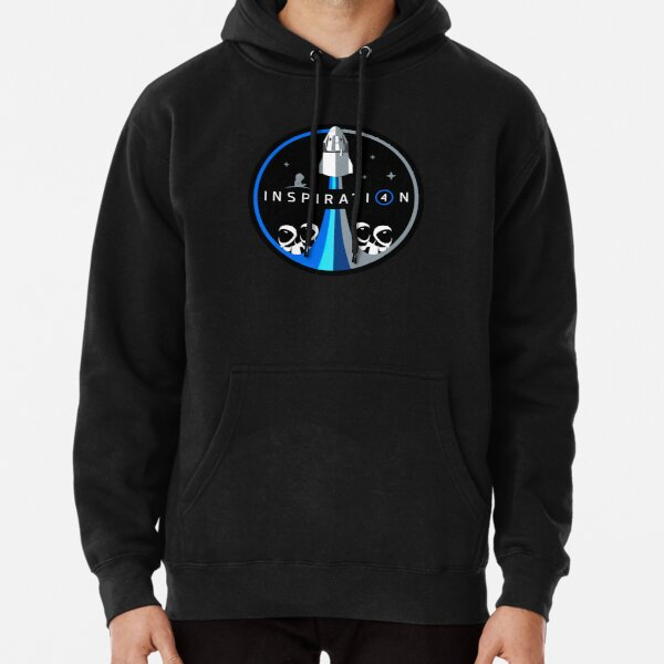 SpaceX Inspiration 4  Pullover Hoodie