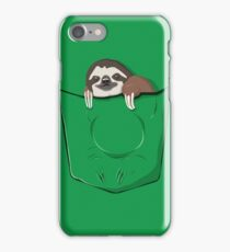 Sloth in a pocket iPhone Case/Skin