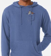 Sloth in a pocket Leichter Hoodie
