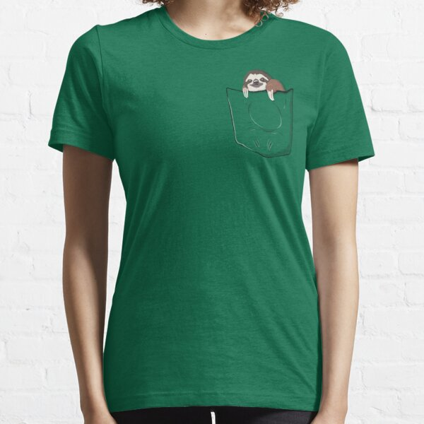 Sloth in a pocket Essential T-Shirt