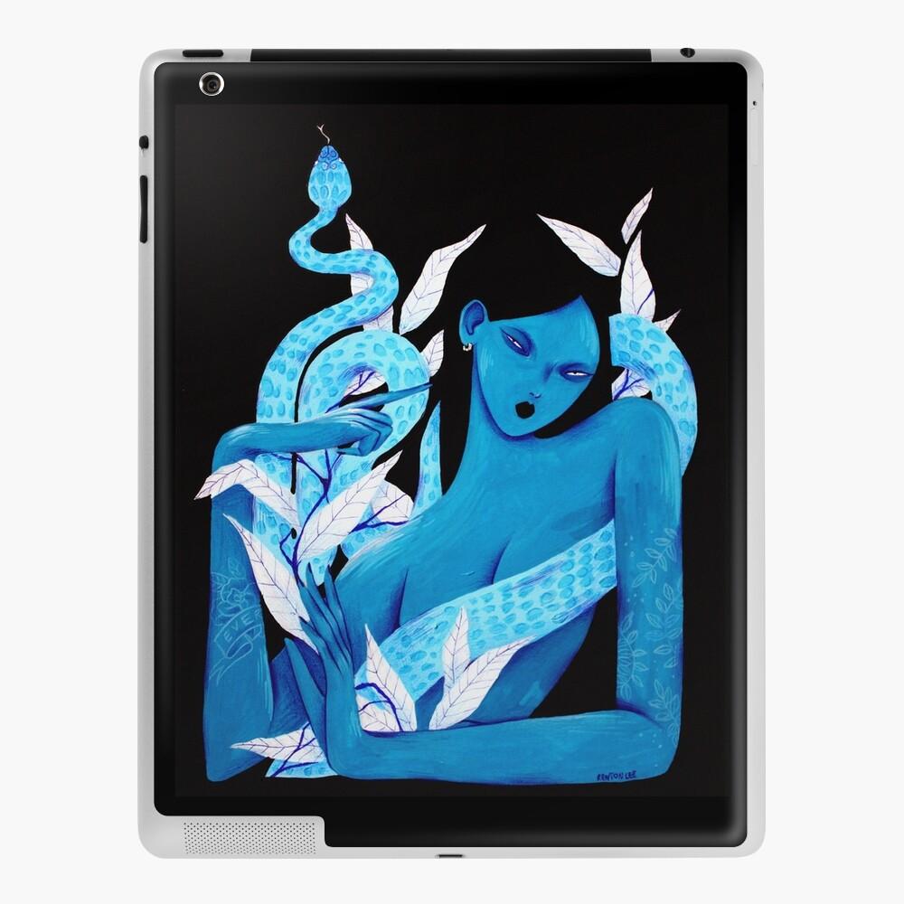 Acrylic Blue iPad Case & Skin