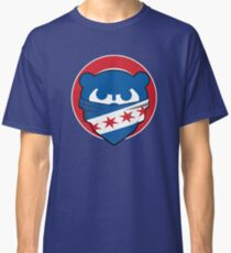 Cubbies Chicago Flag Bandana Face Classic T-Shirt