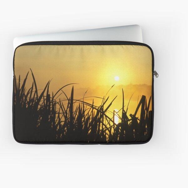 Sunrise Through The Reeds Laptop Sleeve