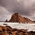 Storm Clouds over Sugarloaf Rock by Martin Pot
