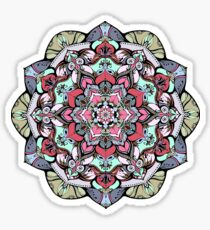 Flowers mandala #38 Sticker