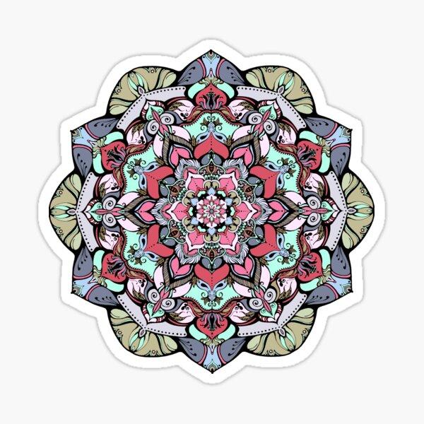 Flowers mandala #38 Sticker