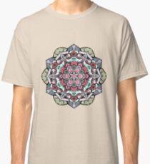 Camiseta clásica Mandala de flores n. ° 38