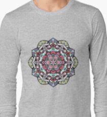 Flowers mandala #38 Long Sleeve T-Shirt