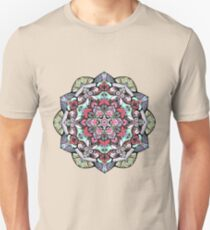 Flowers mandala #38 T-Shirt