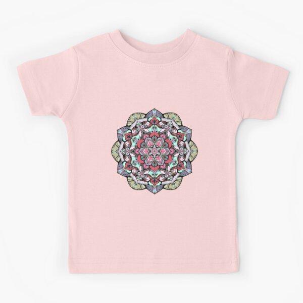 Flowers mandala #38 Kids T-Shirt