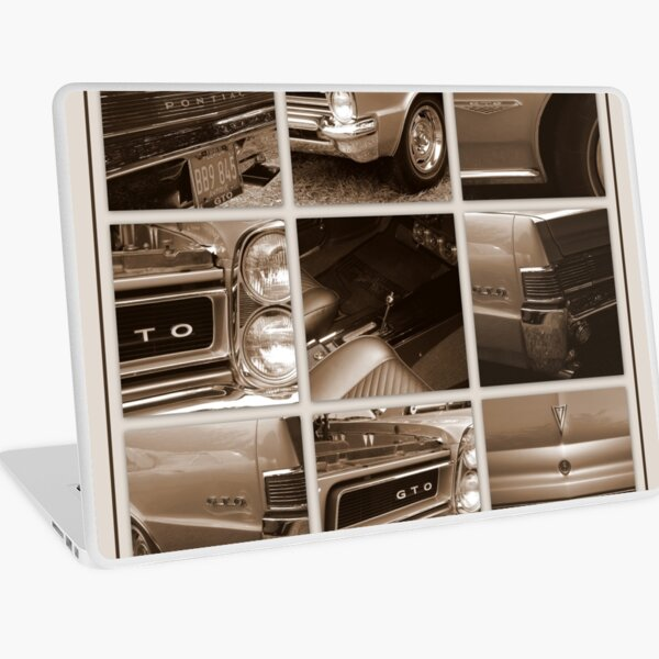 1965 Pontiac GTO Laptop Skin
