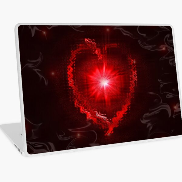 Don't phunk with my heart  Laptop Skin