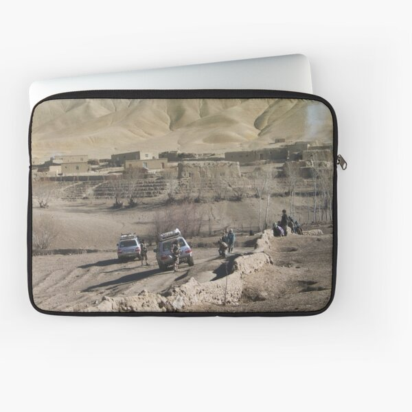 child and soldiers Laptop Sleeve