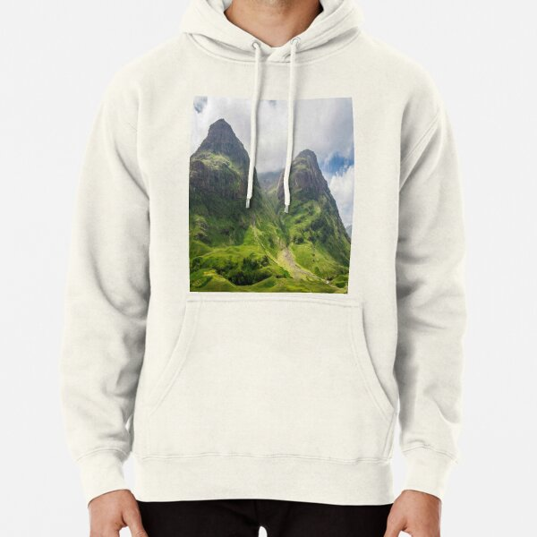The Lost Valley Glencoe Scotland Pullover Hoodie