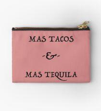 Mas Tacos & Mas Tequila Ver.Black Studio Pouch