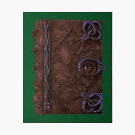 Winifred's Book Art Board Print