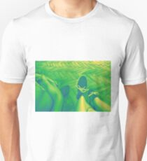 Looking down, 120-80cm, 2016, oil on canvas Unisex T-Shirt
