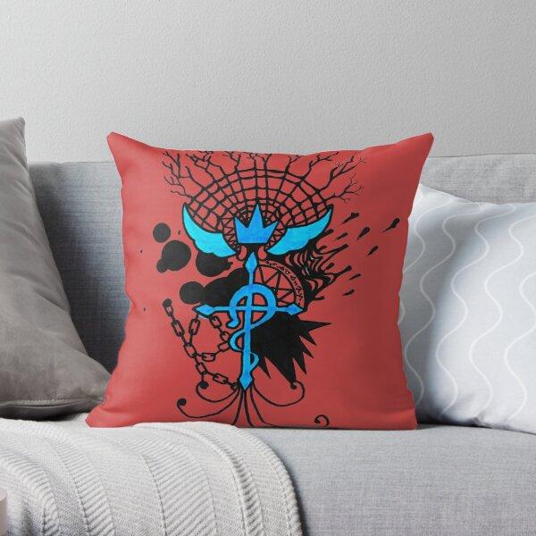 The Flamel Throw Pillow