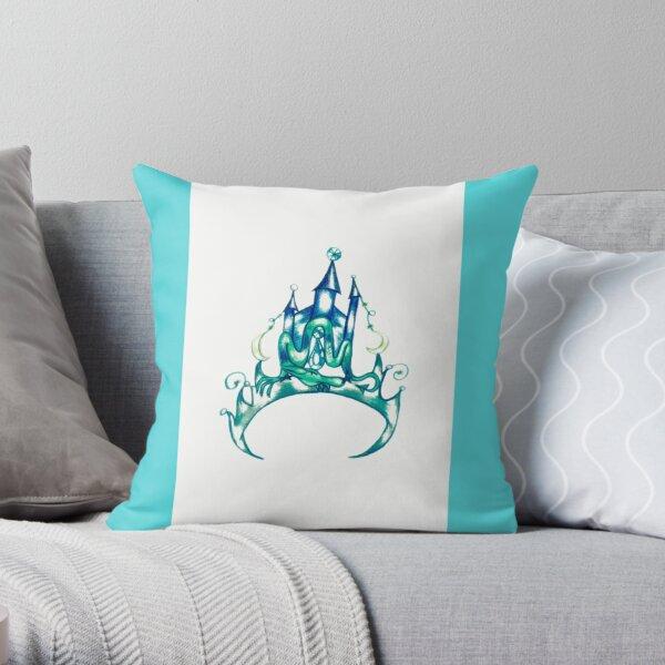 Abstract Tiara Throw Pillow