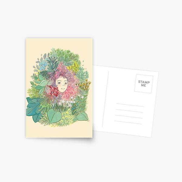 spring face Postcard