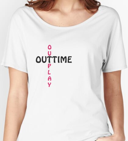outtime / outplay Women's Relaxed Fit T-Shirt