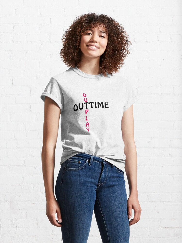 Alternate view of outtime / outplay Classic T-Shirt