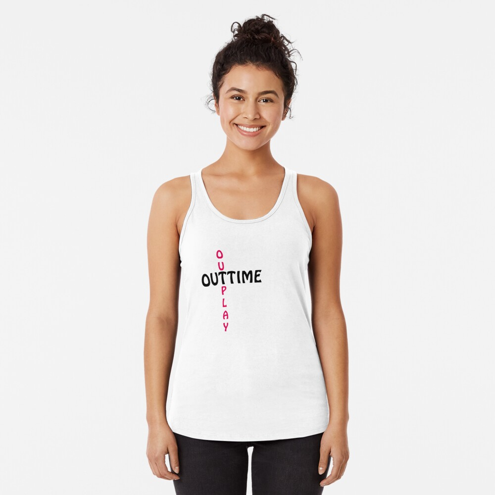 outtime / outplay Racerback Tank Top