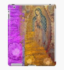 Mary Flowers and Heart iPad Case/Skin