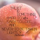 Trust Is Something © Vicki Ferrari by Vicki Ferrari