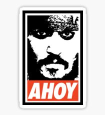AHOY Sticker