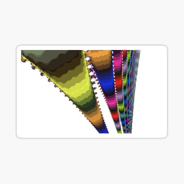 Beryl Rainbow Fractal Sticker