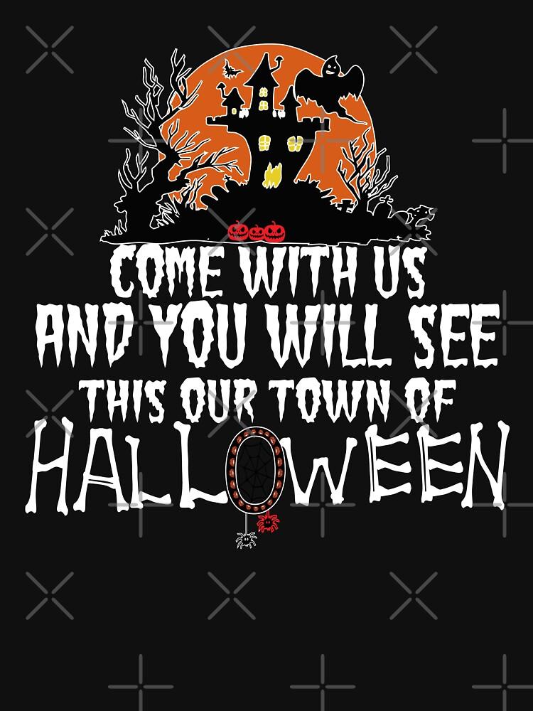Best Halloween Town, Town of Halloween by Ksmm
