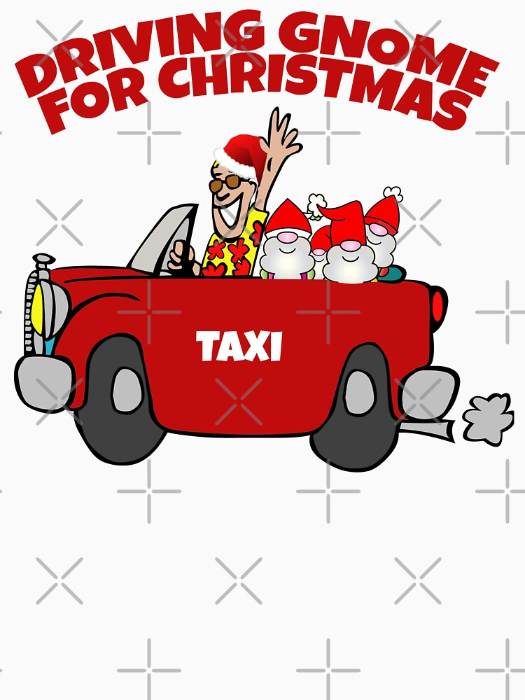 Driving Gnome Home For Christmas  by -Ireland-