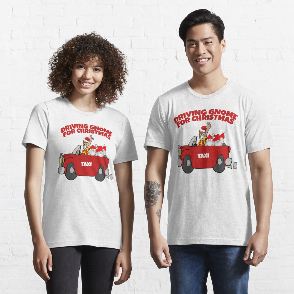 Driving Gnome Home For Christmas  Essential T-Shirt