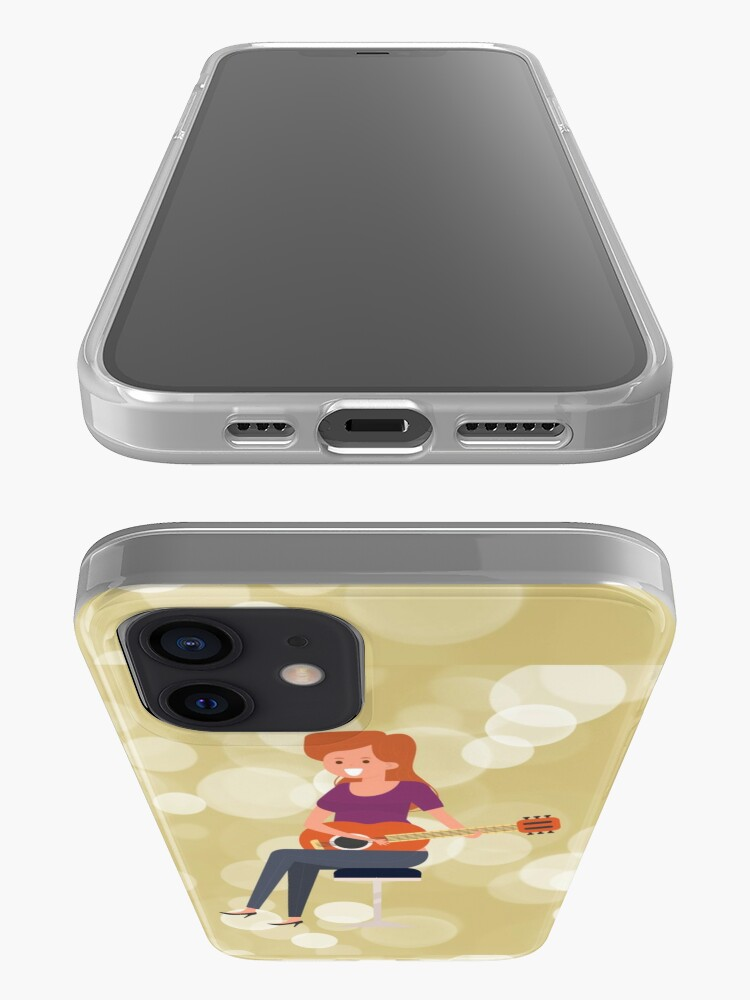 Alternate view of SERIES C- GUITAR-SEAMLESS PATTERN-39 iPhone Case & Cover