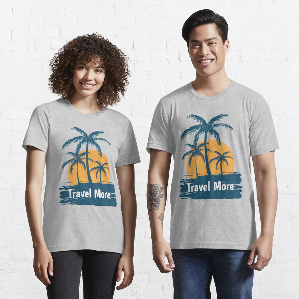 Let's Travel More Essential T-Shirt