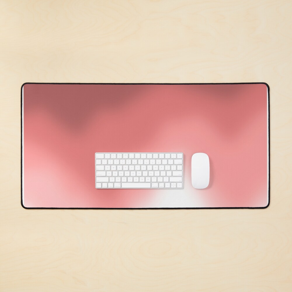 Fading Red Mouse Pad