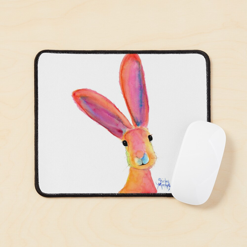 HARE RaBBiT PRiNTS 'LiTTLe LeMoN ' BY SHIRLEY MACARTHUR Mouse Pad