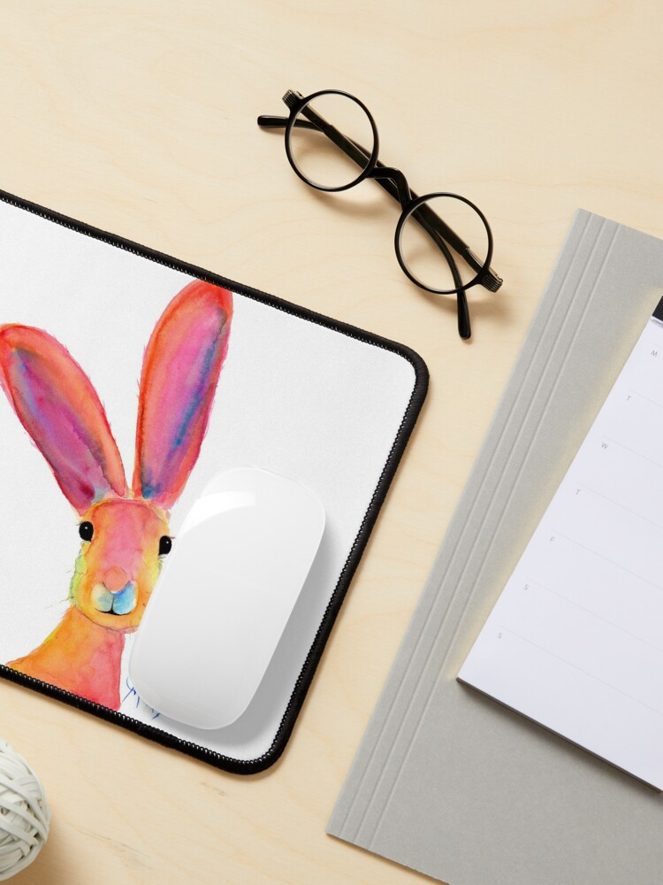 Alternate view of HARE RaBBiT PRiNTS 'LiTTLe LeMoN ' BY SHIRLEY MACARTHUR Mouse Pad