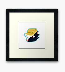 Kicks Head Framed Print