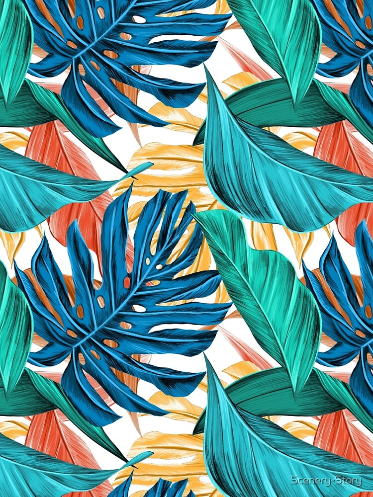 Floral Pattern Design by Scenery-Story