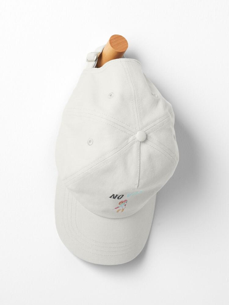 Alternate view of No vax 12 Cap