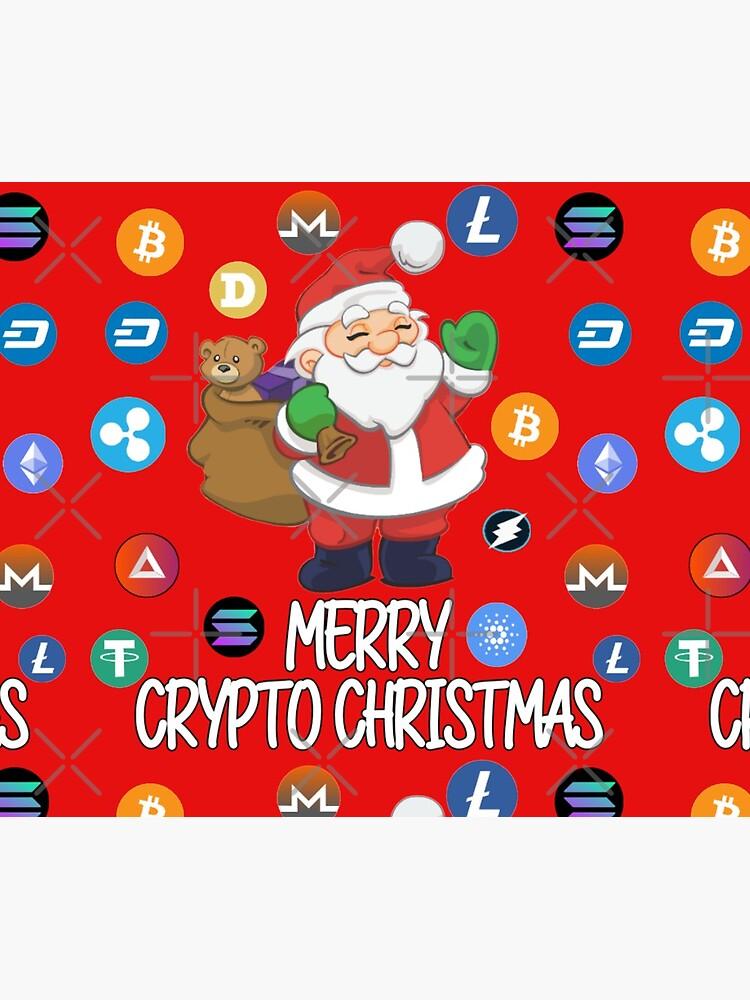 Crypto Christmas Santa Claus by sukhendu12