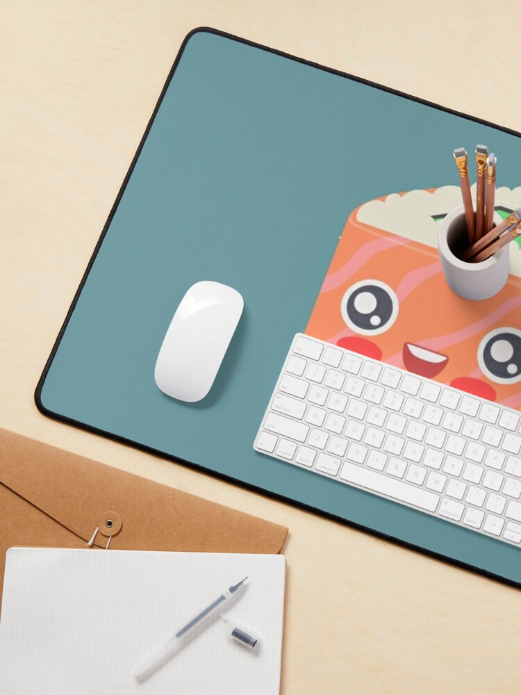 Alternate view of Cute sushi Mouse Pad